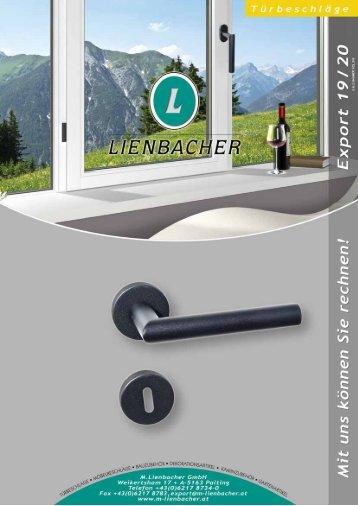 Lienbacher Katalog 2019/2020