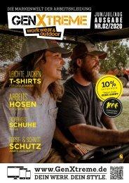 GenXtreme - Werk & Style Magazin 2020 Nr. 2 Summer Issue