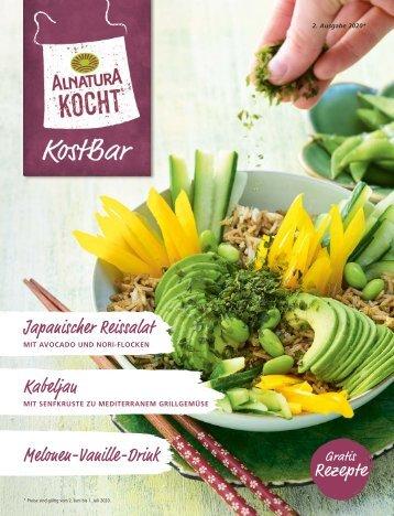Alnatura Kostbar-Rezeptjournal 2. Ausgabe 2020