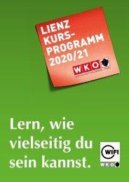 WIFI Lienz Kursprogramm 2020/21