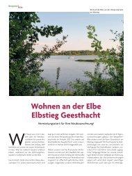 Baubeschreibung Elbstieg Geesthacht (Bei Uns 4/2019)