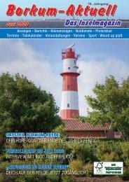 Juni 2020   Borkum-Aktuell - Das Inselmagazin