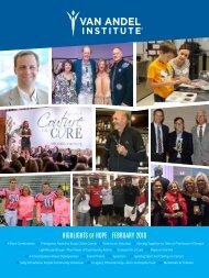2018 Spring/Summer Highlights of Hope