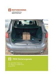 Produktinformation PKW Netz für den Kofferraum