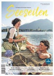Seeseiten – das Magazin für die Region Tegernsee, Nr. 61, Ausgabe Sommer 2020