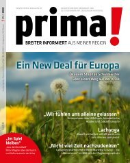 prima! Magazin - Ausgabe Mai 2020