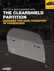 Ranger Design ClearShield Partition Brochure