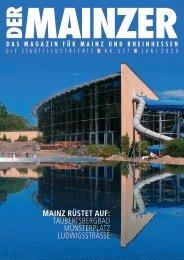 DER MAINZER - Das Magazin für Mainz und Rheinhessen - Nr. 357
