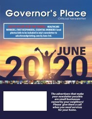 Governors Place June 2020