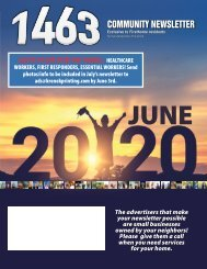 The 1463 June 2020