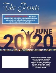 The Points June 2020