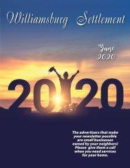 Williamsburg Settlement June 2020