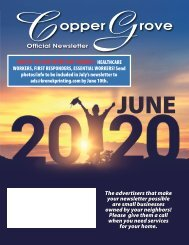 Copper Grove June 2020