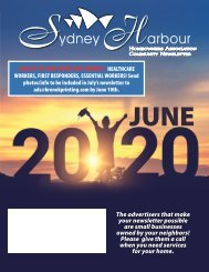 Sydney Harbour June 2020
