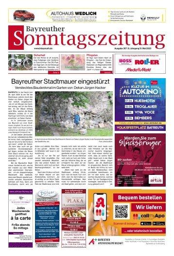 2020-05-31 Bayreuther Sonntagszeitung