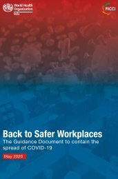 Back to Safer Workplaces