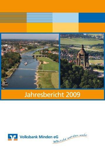 PDF Geschäftsbericht 2009 - Volksbank Minden eG