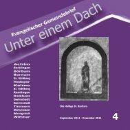 Die Heilige St. Barbara September 2011 - stbarbara-wittmar.de
