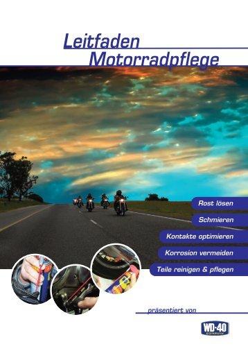 Leitfaden Motorradpflege