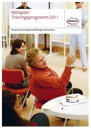 Qualifizierungsprogramm 2011/2012 Diskursives ... - Metaplan