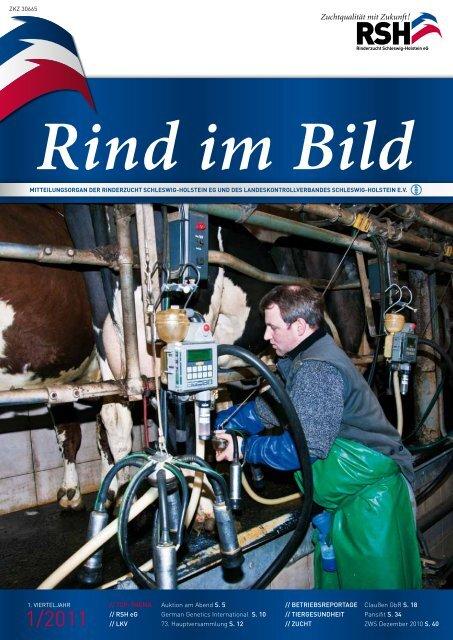 // Rind im Bild 1/2011 1 - Rinderzucht Schleswig-Holstein e.G.