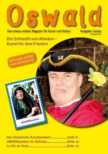 Das etwas andere Magazin für Kunst und Kultur - Netmailart