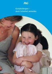 Kontaktallergien - durch Sicherheit vermeiden - Procter & Gamble