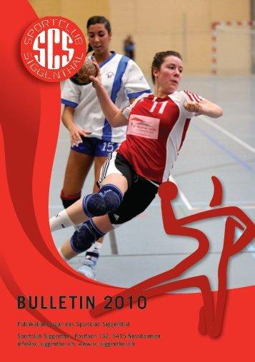 BUlletiN 2010 - SC Siggenthal