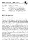 Wir wünschen Dir… - Schützenverein Balsthal-Klus - Seite 2