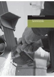 Jahresrechnung und Anhang - Personalvorsorgekasse der Stadt Bern