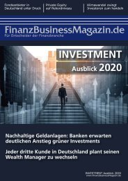 INVESTMENT Ausblick 2020