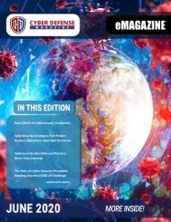 Cyber Defense eMagazine June 2020 Edition