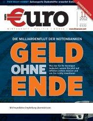 dIe MIllIardenflut der notenbanken - Fondsvermittlung24.de