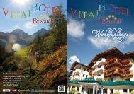 Die schönen Seiten des Sommers… www ... - Vital-Hotel Berghof