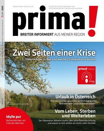 prima! Magazin - Ausgabe Juni 2020