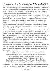 Firmung am 1. Adventssonntag, 2. Dezember 2012 - Bistum Mainz