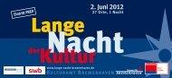 2. Juni 2012 - Lange Nacht der Kultur Bremerhaven