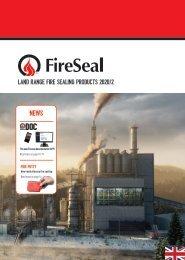 FireSeal Catalouge English