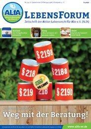 ALfA e.V. Magazin – LebensForum   134 2/2020