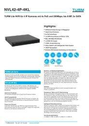 NVL42-4P-4KL Datenblatt