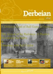 The Derbeian Summer 2020 Featured Articles