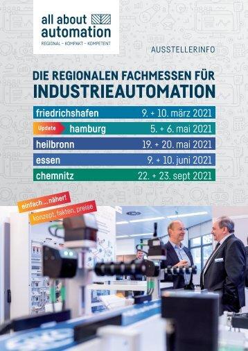 all about automation Ausstellerprospekt 2021