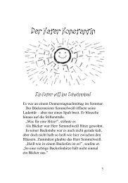 Leseprobe: Der Kater Konstantin.