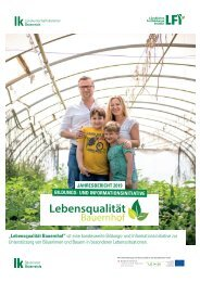 Lebensqualität Bauernhof Jahresbericht 2019