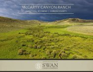 McCarty Canyon Ranch Offering Brochure