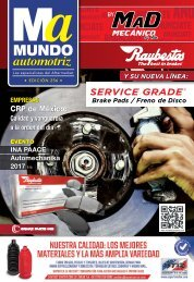 Mundo Automotriz La Revista No. 256 Julio 2017