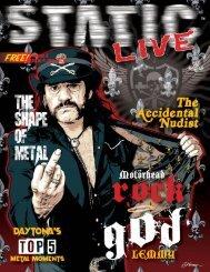 Static Live Magazine June 2020