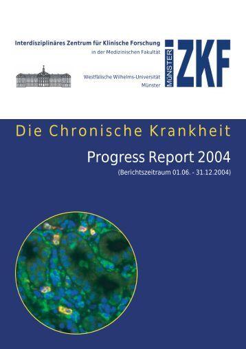 Die Chronische Krankheit Progress Report 2004 - bei der ...