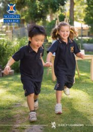 Early Learning   Scotch College Adelaide