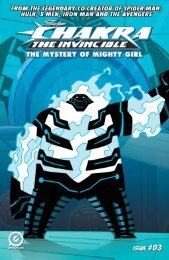 CHAKRA - MIGHTY GIRL: Issue 3